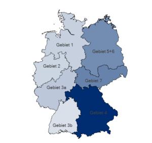 Geo-Analysen nach Nielsen-Gebieten
