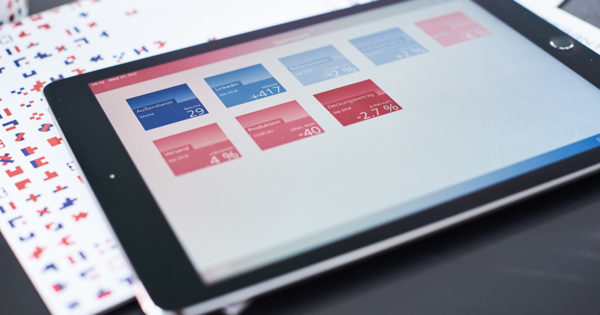 DeltaMaster-App iPad