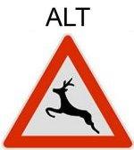 Symbol 142: Deer pass, old