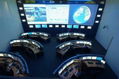 Columbus Kontrollzentrum
